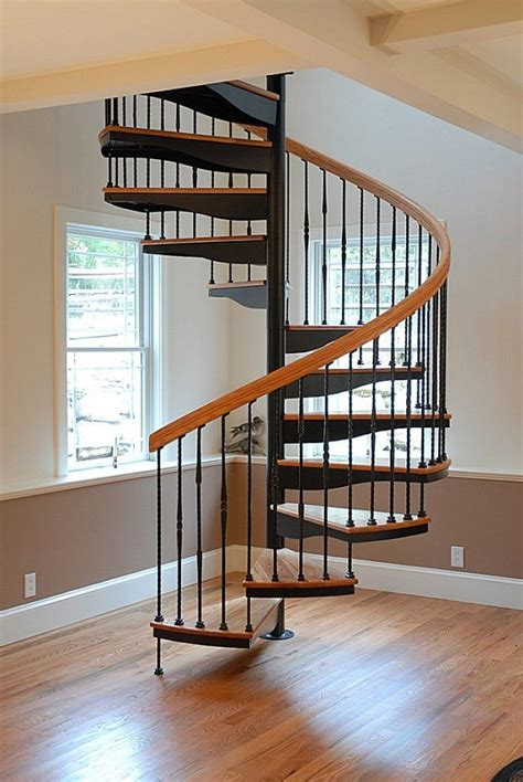 Small Spiral Staircase Plans
