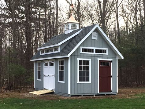 Small Storage Shed Plans 12 X 20