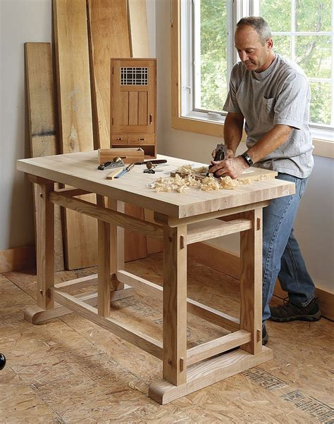 Small Sturdy Workbench Plans