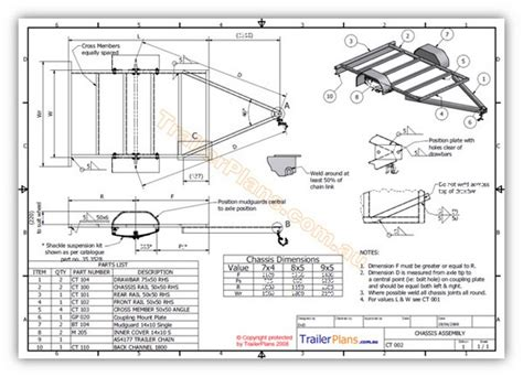 Small Trailer Plans Free