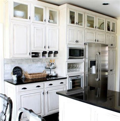 Small Upper Cabinets Above Kitchen Cabinets