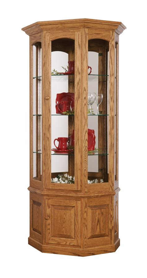 Small Used Curio Cabinets Cheap