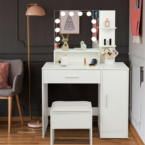 Small Vanity Table With Storage