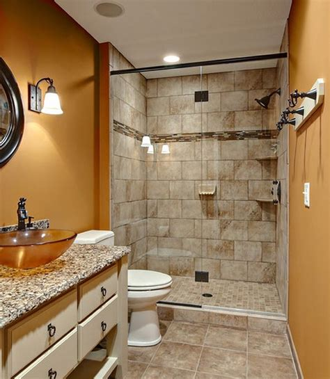 Small Walk In Shower Designs