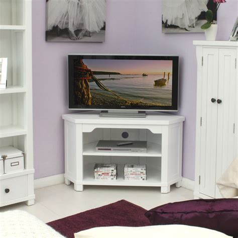 Small White Entertainment Cabinet