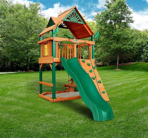Small Wood Playset