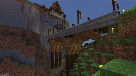 Small Wooden Bridge Minecraft