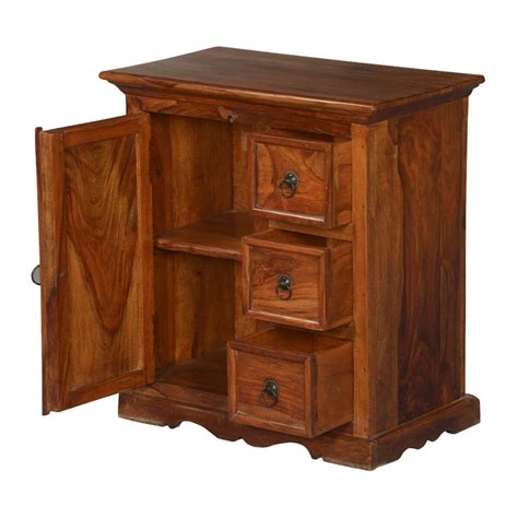 Small Wooden Cabinet With Door