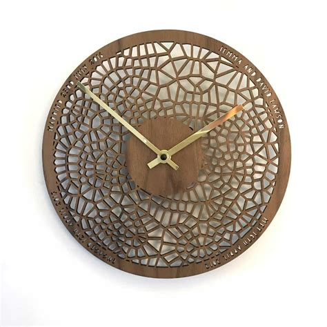 Small Wooden Clock Designs