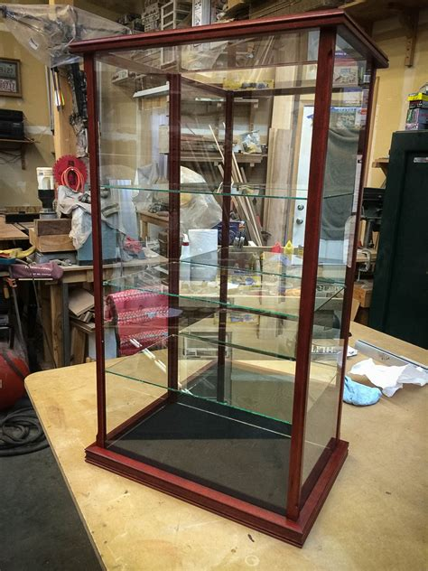 Small Wooden Display Cases For Collectibles