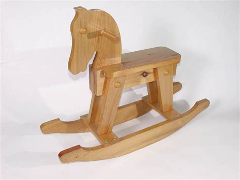 Small Wooden Rocking Horse Plans