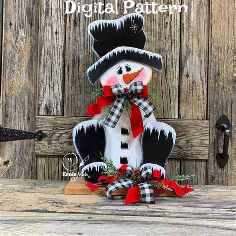 Small Wooden Snowman Patterns Free