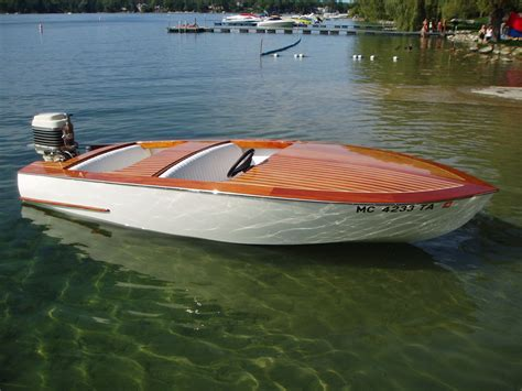 Small Wooden Speed Boat Plans