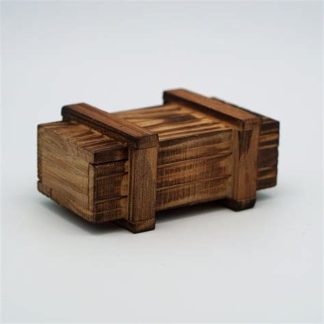 Small Wooden Trick Boxes