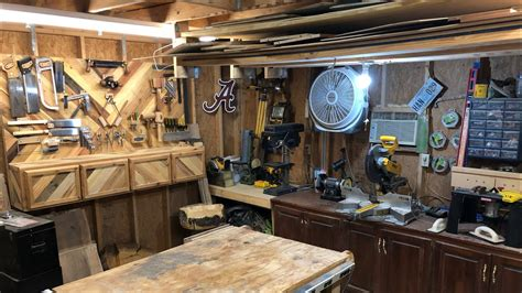 Small Woodworking Shops Tour