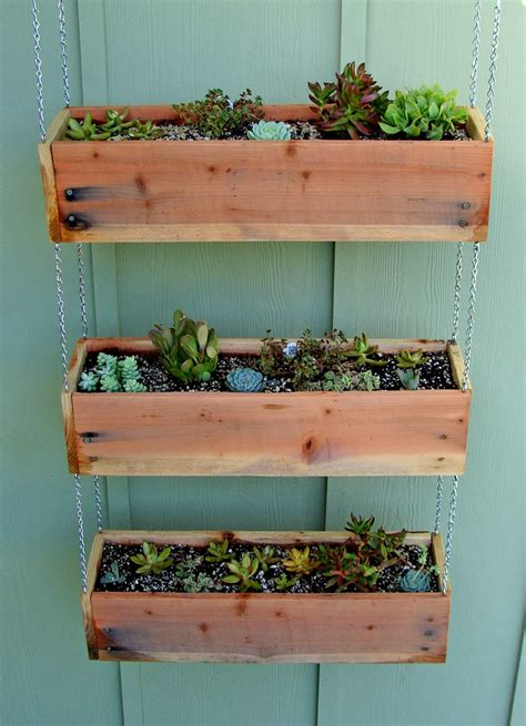 Small planter boxes diy Image