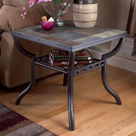 Small Slate End Tables Image