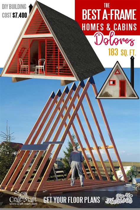 Small-A-Frame-Cabin-Plans
