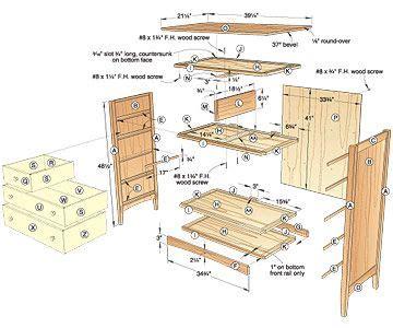 Small-Dresser-Woodworking-Plans