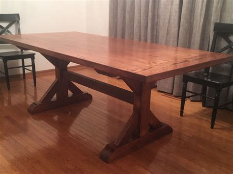 Small-Farmhouse-Trestle-Table-Plans