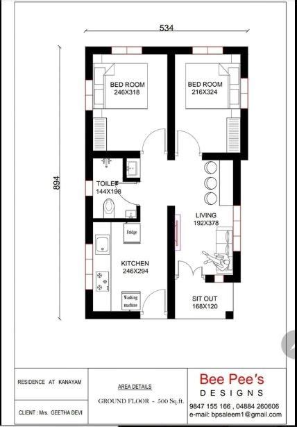 Small-House-Plans-Under-500-Sq-Ft-Free