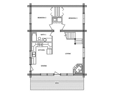 Small-Hunting-Camp-Floor-Plans