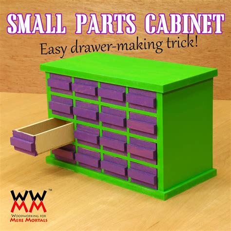 Small-Parts-Cabinet-Plans