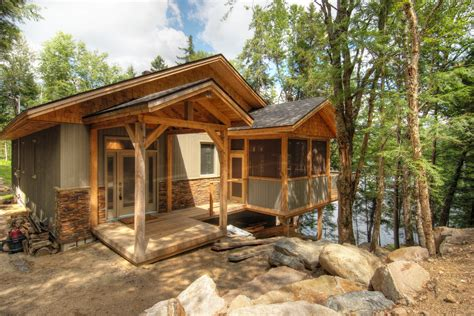 Small-Rustic-Lake-Cabin-Plans