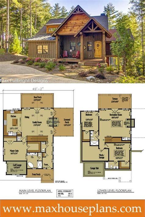 Small-Rustic-Log-Cabin-Floor-Plans