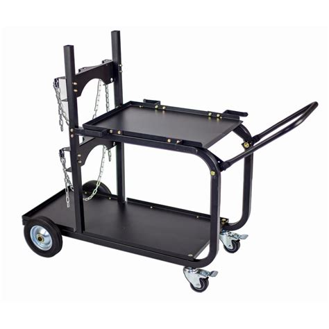 Small-Welding-Cart-With-Cylinder-Rack-Plans