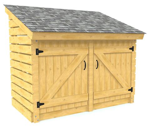Small-Wood-Garden-Shed-Plans