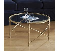 Best Small brass and glass coffee tables