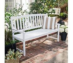 Best Small curved outdoor bench