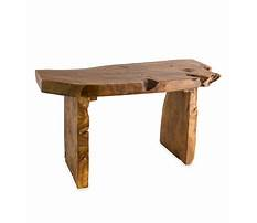 Best Small decorative wooden bench