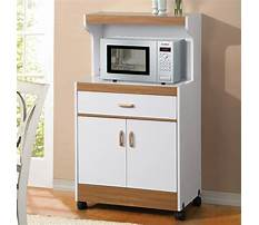 Best Small microwave carts with storage