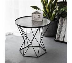 Best Small modern glass end tables