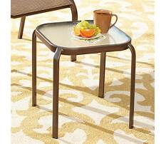 Best Small outdoor end tables