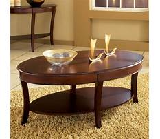 Best Small oval coffee tables wood