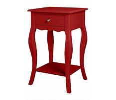 Best Small red side table
