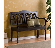 Best Small wooden bench indoor