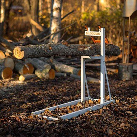 Smart Wood Log Holder For Chainsaw Sawhorse