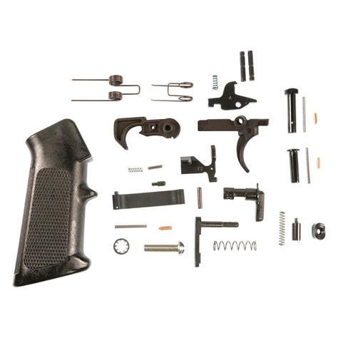 Smith Wesson M P Ar 15 Complete Lower Parts Kit And Ar 15 Lower Receiver Parts Kit