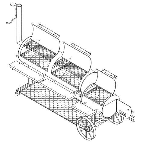 Smoker-Grill-Blueprints
