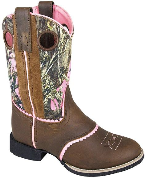 Smoky Mountain Childrens Girls Ruby Belle Brown/Pink Camo