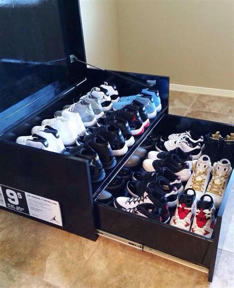 Sneaker Box Storage Diy Ideas