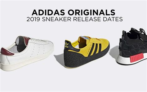 Sneaker Release Dates 2019 Adidas