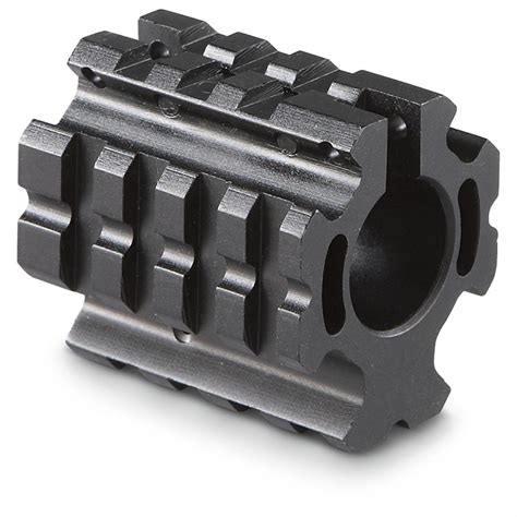 Sniper Low-Profile Quad Rail Gas Block - 231486 Upper .