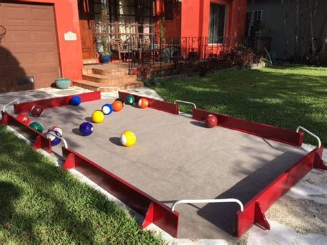 Snookball Table Diy Ideas