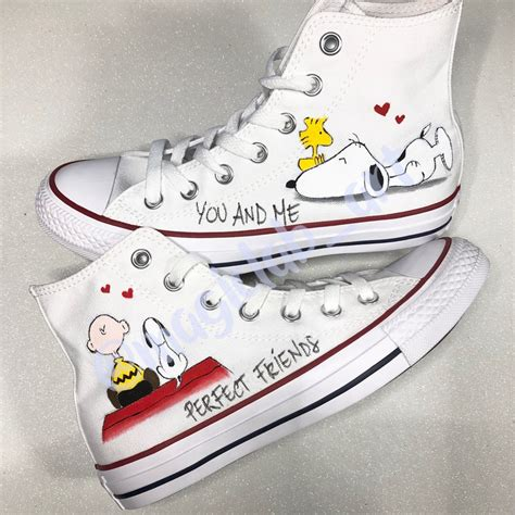 Snoopy Converse Sneakers