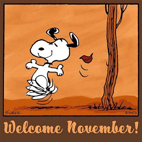 Snoopy Hello November